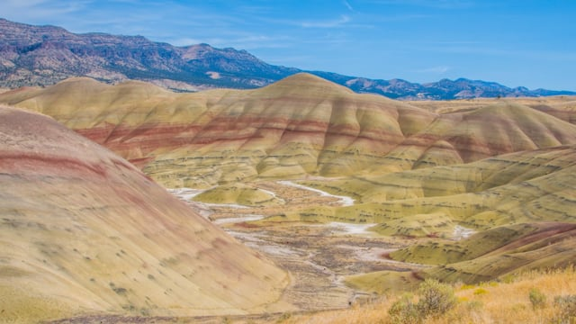 Breathtaking Painted Hills - 4K Nature Documentary
