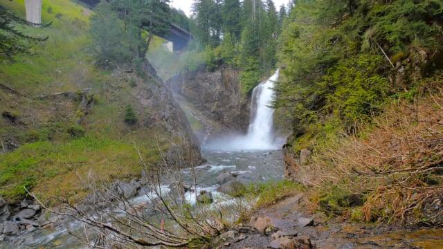 Franklin Falls in WA