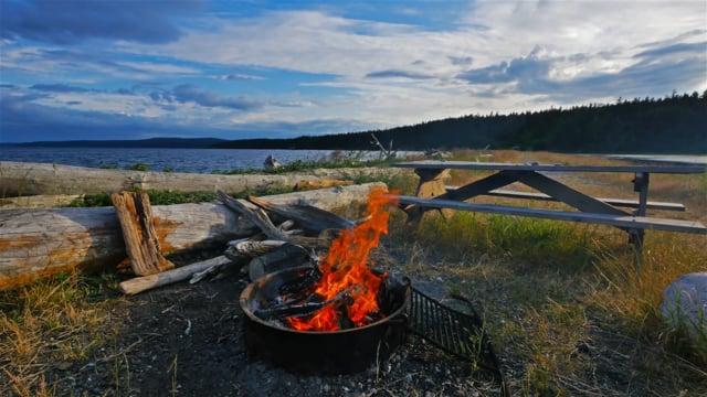 Relaxing Campfire
