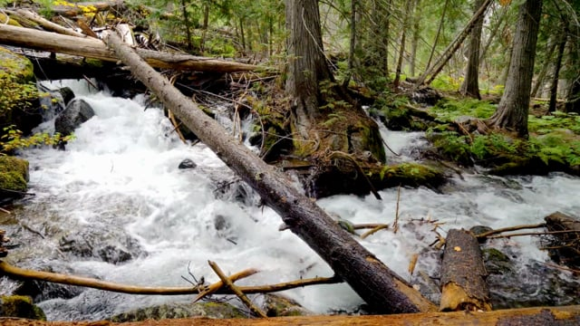 Enchantment Lakes Trail, Waterfall