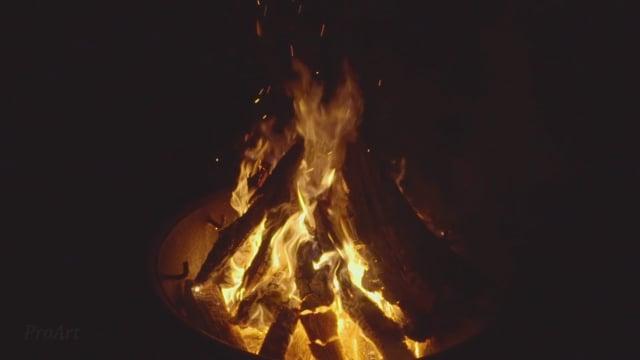 Relaxing Campfire 5