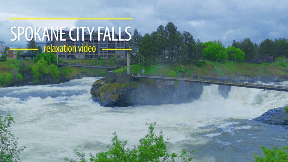 Spokane City Falls