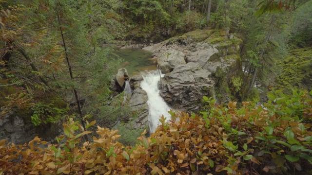 Nooksack Falls, Mount Baker Area