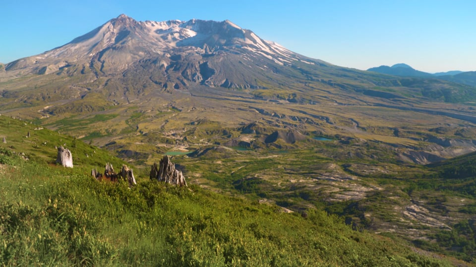 View from Harry's Ridge Trail, Mt. St. Helens
