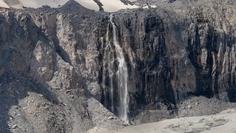 Mount Rainier, Cassidy Waterfall