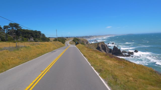 King Ridge Road, Scenic Bike Ride, California