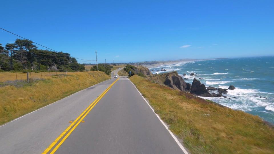 King Ridge Road, Scenic Bike Ride, California