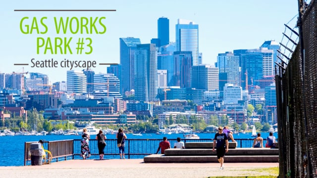 View from Gas Works Park. Part 3
