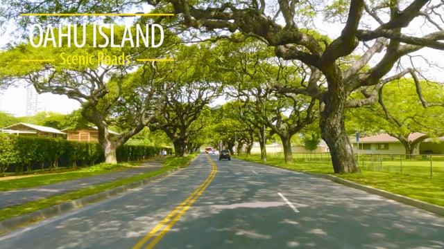 Oahu Island Scenic Roads