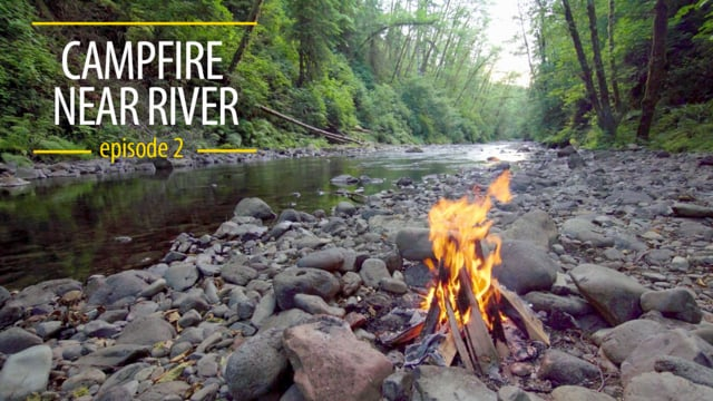 Campfire near River 2