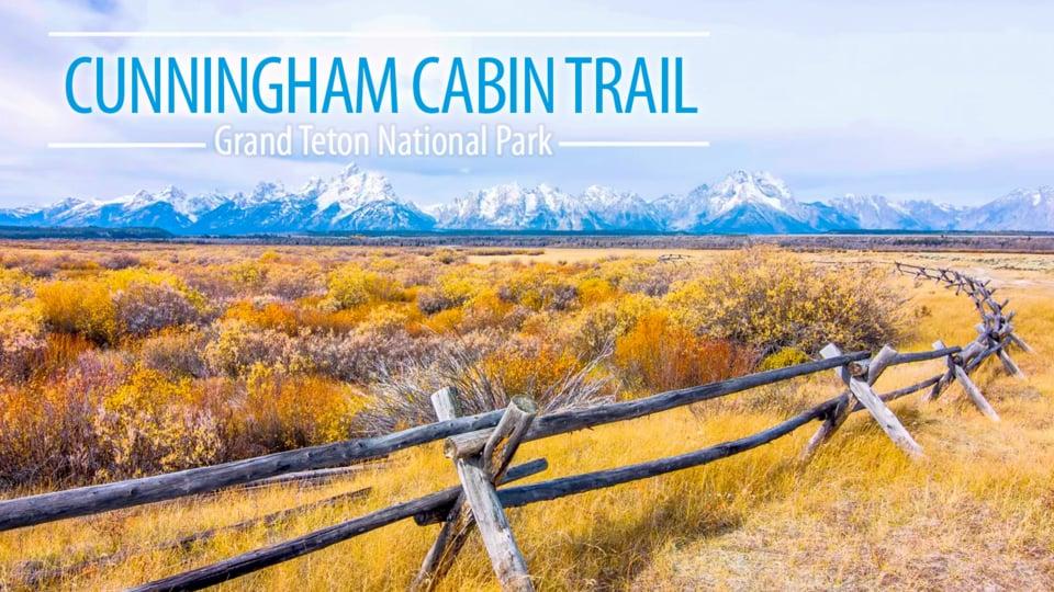 Cunningham Cabin Trail, Autumn in Grand Teton National Park