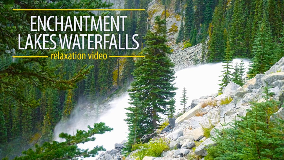 Enchantment Lakes Waterfalls
