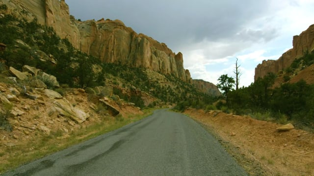 Burr Trail Road, Utah