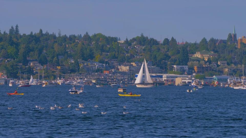 Seattle Lake Union Park, WA