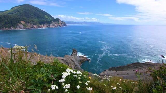 Coastal Oregon. Pacific Ocean. 2
