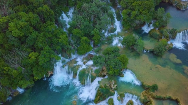 Bird's Eye View of Croatia