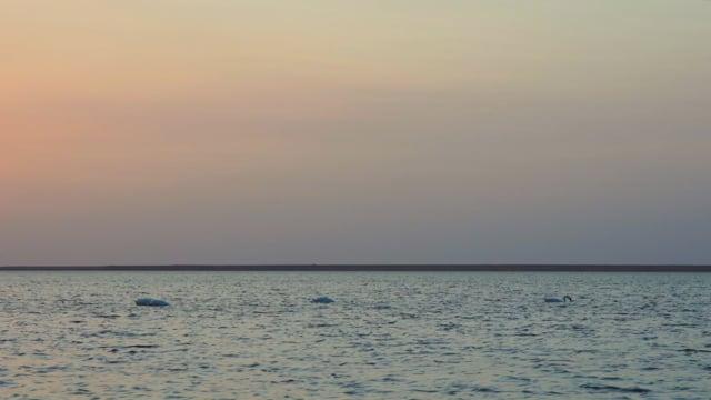 Sunset over the Lake, Ukraine